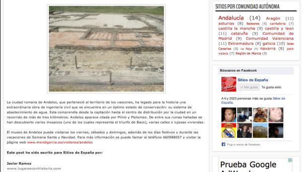 Captura Sitios de España