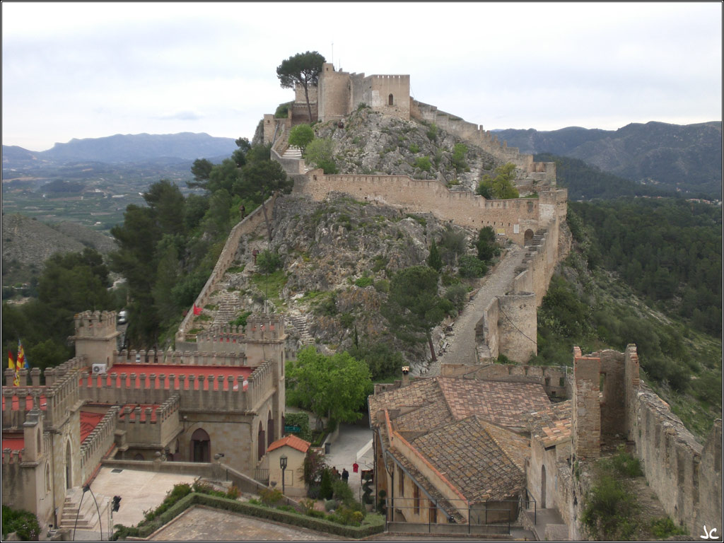 Xativa Spain  city pictures gallery : Castillo de Xátiva, Valencia, España | Castillos Castles ...