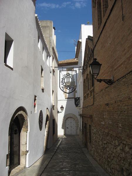 casco antiguo de la localidad catalana de sitges