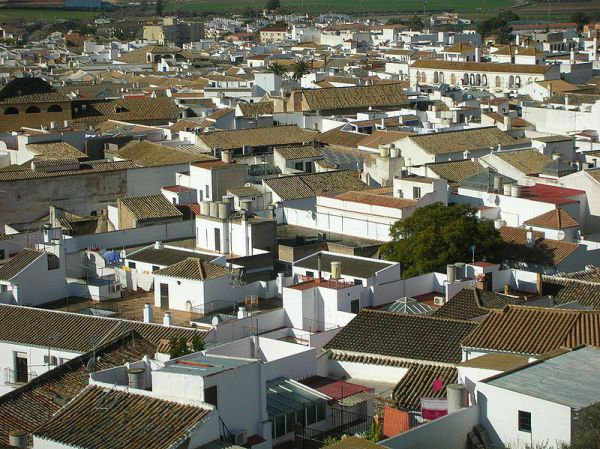panorámica de la ciudad sevillana de osuna