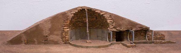 tumba funeraria neolítica edad del cobre en almería