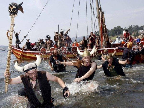 desembarco normando y jornada festiva en la localidad gallega.
