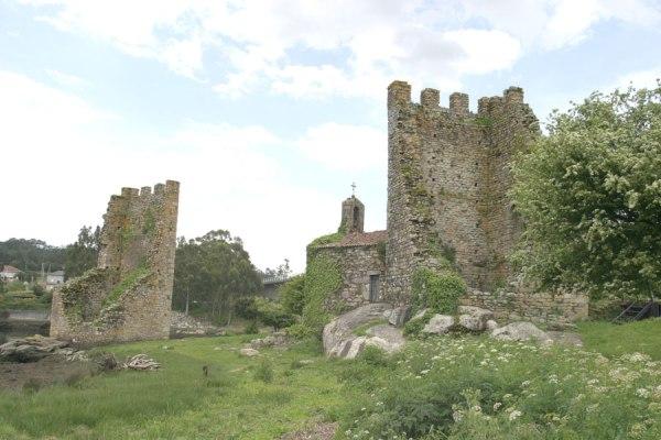 fortaleza defensiva de la localidad pontevedresa