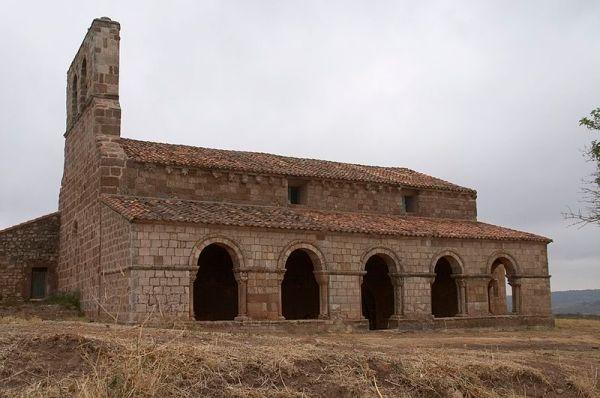 Ermita románica de Tiermes./Malica