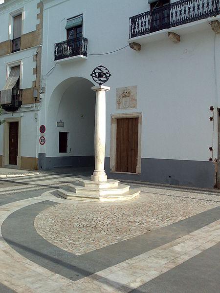 El patrimonio monumental de Olivenza es abundante y lustroso./Tagido