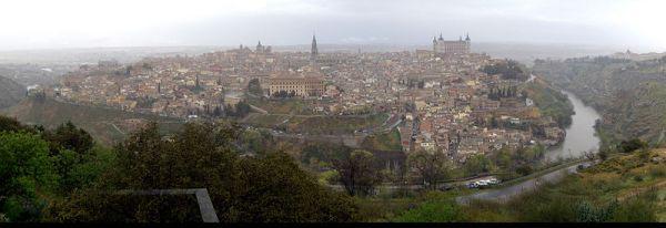 Panorámica de la ciudad de Toledo./Mikel Ortega