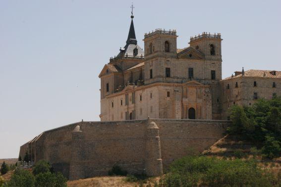 vista lateral del monasterio de uclés