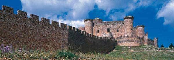 vista general murallas y fortaleza de belmonte