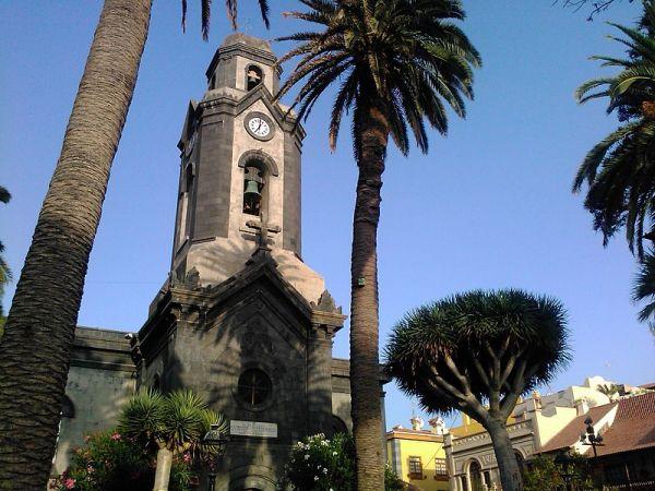 iglesia de la localidad tinerfeña