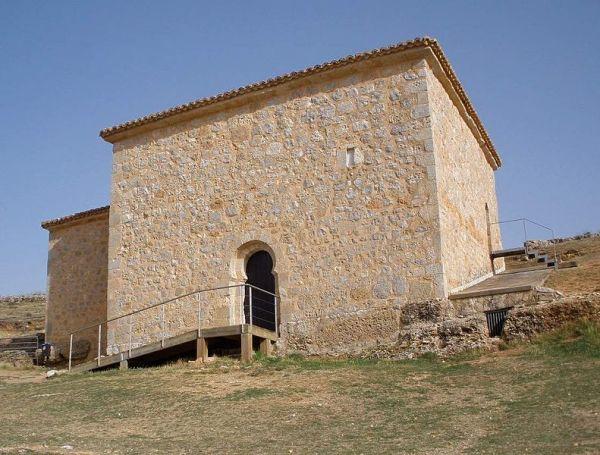 exterior de la ermita de san baudelio de berlanga