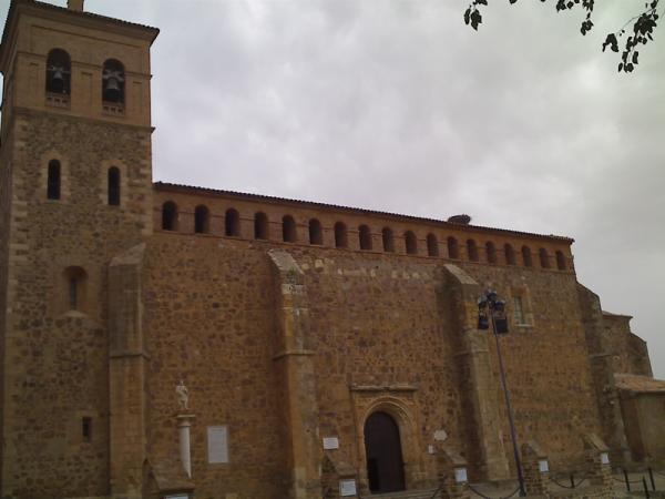 fachada de la iglesia de nuestra señora de la asunción