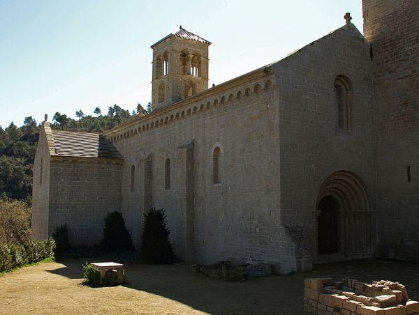 Exterior del monasterio de sant benet des bages