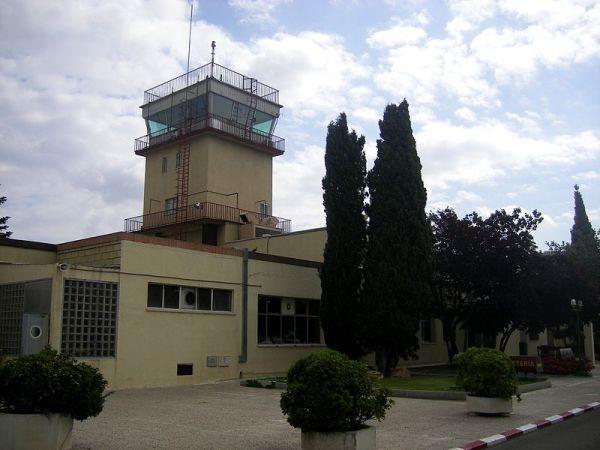 Una de las torres de control del aeródromo de Cautro Vientos