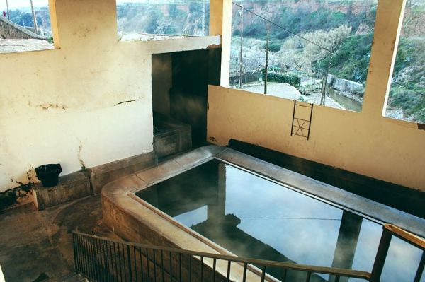 Antiguo lavadero de Caldas de Montbui