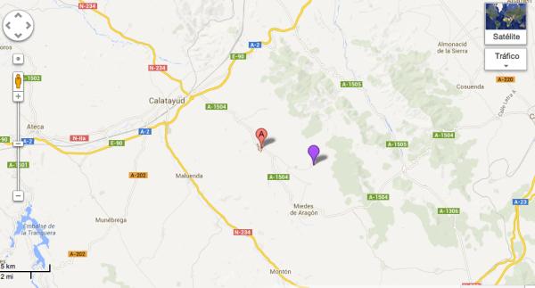 Mapa Segeda