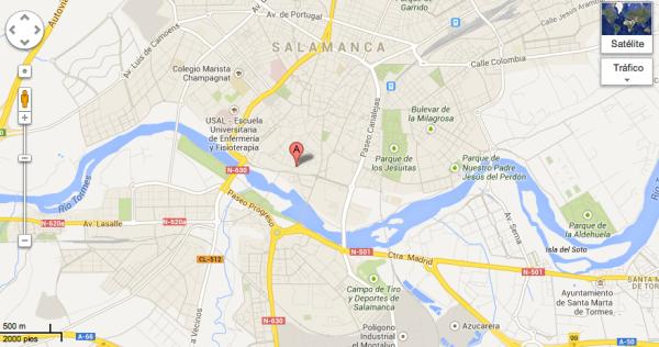 Mapa Archivo Salamanca