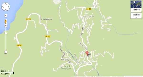 Mapa Deia