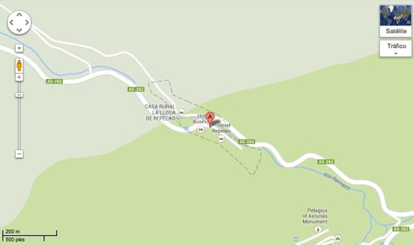 Plano Covadonga