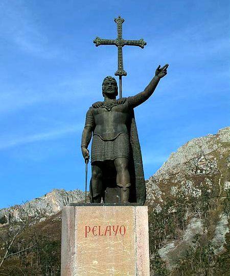 don pelayo - Covadonga: el inicio de la Reconquista